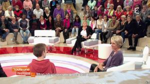Sophie Davant dans Toute une Histoire - 05/02/14 - 05