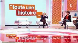 Sophie Davant dans Toute une Histoire - 16/01/14 - 10
