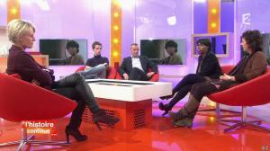 Sophie Davant dans Toute une Histoire - 21/01/14 - 06