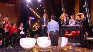 Alessandra Sublet dans Un Soir à la Tour Eiffel - 04/02/15 - 02