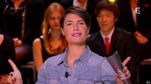 Alessandra Sublet dans Un Soir à la Tour Eiffel - 04/02/15 - 05