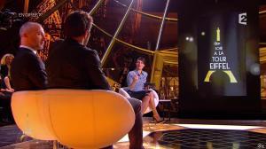 Alessandra Sublet dans Un Soir à la Tour Eiffel - 04/02/15 - 09
