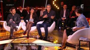 Alessandra Sublet dans Un Soir à la Tour Eiffel - 04/02/15 - 11