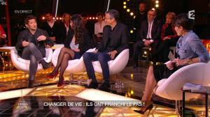 Alessandra Sublet dans Un Soir à la Tour Eiffel - 04/02/15 - 12