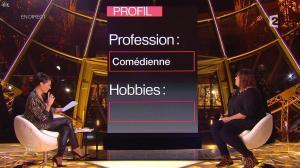 Alessandra Sublet dans un Soir à la Tour Eiffel - 28/01/15 - 08
