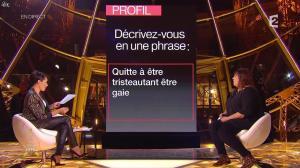 Alessandra Sublet dans un Soir à la Tour Eiffel - 28/01/15 - 09