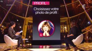 Alessandra Sublet dans un Soir à la Tour Eiffel - 28/01/15 - 10