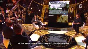 Alessandra Sublet dans Un Soir à la Tour Eiffel - 28/01/15 - 14