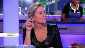 Anne-Sophie Lapix dans C à Vous le Best Of - 07/02/15 - 01