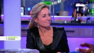 Anne-Sophie Lapix dans C à Vous le Best Of - 07/02/15 - 02