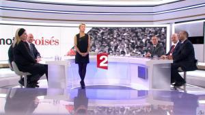 Anne-Sophie Lapix dans Mots Croises - 12/01/15 - 01