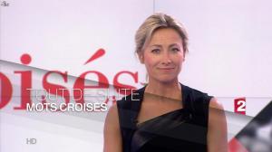 Anne-Sophie Lapix dans Mots Croises - 12/01/15 - 02