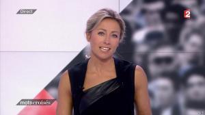 Anne-Sophie Lapix dans Mots Croises - 12/01/15 - 03