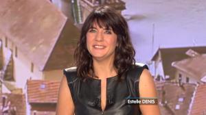 Estelle Denis lors du Tirage du Loto - 17/12/14 - 02