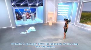 Estelle Denis lors du Tirage du Loto - 17/12/14 - 06