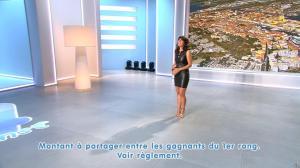 Estelle Denis lors du Tirage du Loto - 17/12/14 - 09