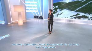 Estelle Denis lors du Tirage du Loto - 28/01/15 - 02