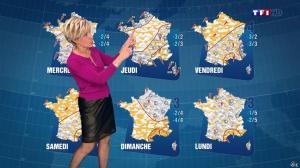 Evelyne Dhéliat à la Météo de 20h - 02/02/15 - 01