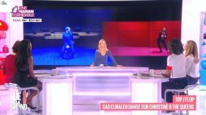 Laurence Ferrari, Audrey Pulvar, Hapsatou Sy et Elisabeth Bost dans le Grand 8 - 08/12/14 - 10