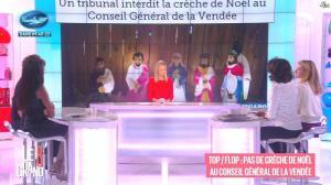 Laurence Ferrari, Hapsatou Sy, Audrey Pulvar et Elisabeth Bost dans le Grand 8 - 04/12/14 - 08