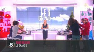 Laurence Ferrari et Hapsatou Sy dans le Grand 8 - 18/12/14 - 01