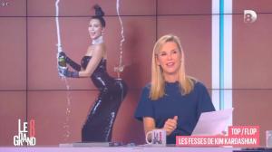Laurence Ferrari et Kim Kardashian dans le Grand 8 - 14/11/14 - 03