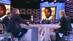Laurence Ferrari dans le Grand Journal de Canal Plus - 16/01/15 - 09
