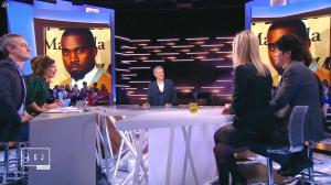 Laurence Ferrari dans le Grand Journal de Canal Plus - 16/01/15 - 11