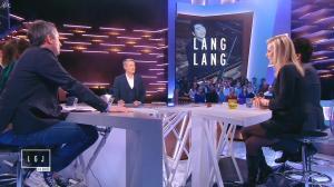 Laurence Ferrari dans le Grand Journal de Canal Plus - 16/01/15 - 14
