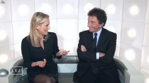Laurence Ferrari dans le Grand Journal de Canal Plus - 19/01/15 - 07