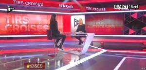 Laurence Ferrari dans Tirs Croises - 04/02/15 - 01