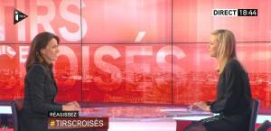 Laurence Ferrari dans Tirs Croises - 04/02/15 - 02