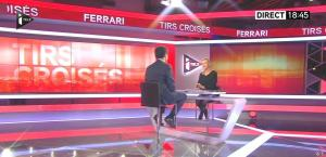 Laurence Ferrari dans Tirs Croisés - 06/01/15 - 01