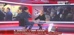 Laurence Ferrari dans Tirs Croisés - 06/01/15 - 02