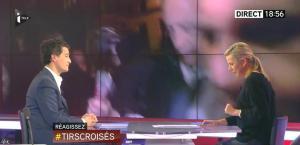 Laurence Ferrari dans Tirs Croisés - 06/01/15 - 04