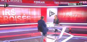 Laurence Ferrari dans Tirs Croisés - 09/02/15 - 03