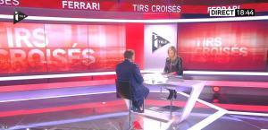 Laurence Ferrari dans Tirs Croises - 09/02/15 - 05