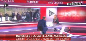 Laurence Ferrari dans Tirs Croisés - 09/02/15 - 14