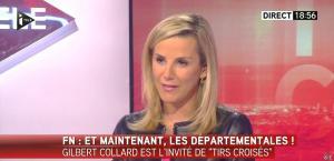 Laurence Ferrari dans Tirs Croisés - 09/02/15 - 23