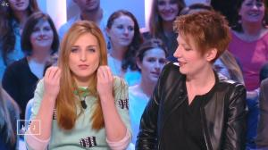 Natacha Polony et Alison Wheeler dans le Grand Journal de Canal Plus - 19/01/15 - 09