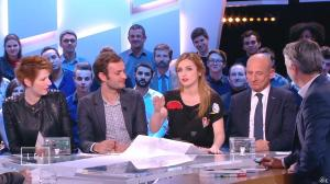 Natacha Polony et Alison Wheeler dans le Grand Journal de Canal Plus - 27/01/15 - 08