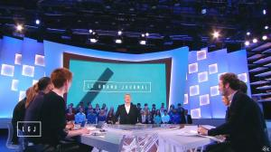 Natacha Polony dans le Grand Journal de Canal Plus - 15/01/15 - 04
