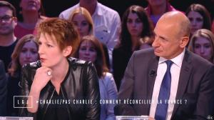 Natacha Polony dans le Grand Journal de Canal Plus - 19/01/15 - 02
