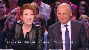 Natacha Polony dans le Grand Journal de Canal Plus - 19/01/15 - 04