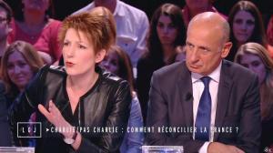 Natacha Polony dans le Grand Journal de Canal Plus - 19/01/15 - 06