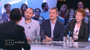 Natacha Polony dans le Grand Journal de Canal Plus - 26/01/15 - 02