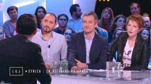 Natacha Polony dans le Grand Journal de Canal Plus - 26/01/15 - 02