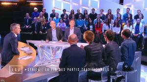 Natacha Polony dans le Grand Journal de Canal Plus - 27/01/15 - 04