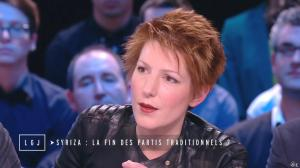 Natacha Polony dans le Grand Journal de Canal Plus - 27/01/15 - 06