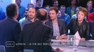 Natacha Polony dans le Grand Journal de Canal Plus - 27/01/15 - 07
